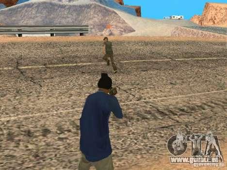 Mis à jour le système pedov pour GTA San Andreas troisième écran