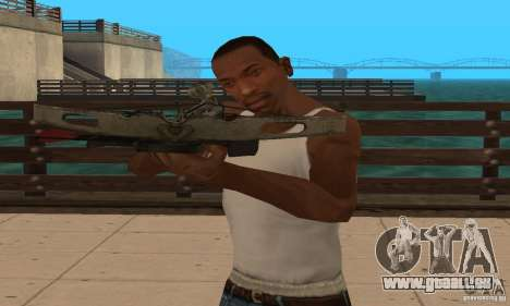 Black Ops-Armbrust für GTA San Andreas her Screenshot