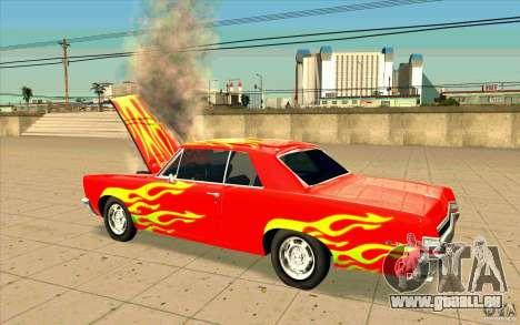 Dead car für GTA San Andreas zweiten Screenshot