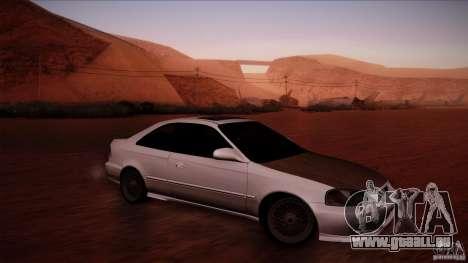 Honda Civic Coupe Si Coupe 1999 für GTA San Andreas linke Ansicht