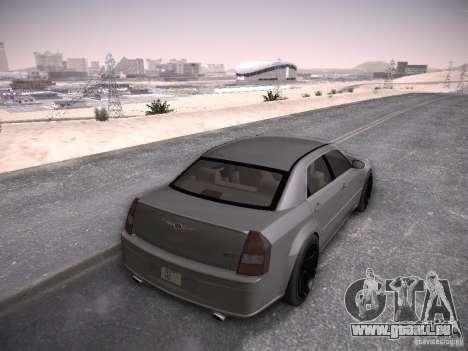 Chrysler 300C SRT8 pour GTA San Andreas laissé vue