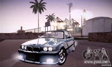 BMW E36 M3 Coupe - Stock für GTA San Andreas