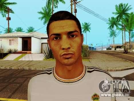 Cristiano Ronaldo-v1 für GTA San Andreas sechsten Screenshot