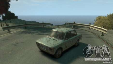 VAZ 2103-Rusty v1. 0 für GTA 4