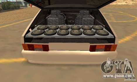 ВАЗ 2114 Dag Style pour GTA San Andreas vue de côté