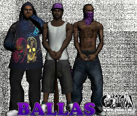 New Ballas pour GTA San Andreas