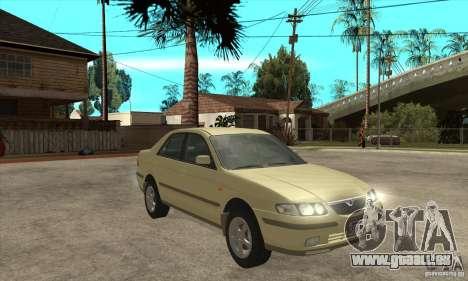 MAZDA 626 GF Sedan für GTA San Andreas Rückansicht
