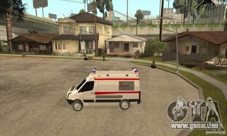 Volkswagen Crafter Ambulance für GTA San Andreas linke Ansicht