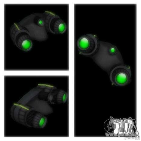 Goggles HD pour GTA San Andreas