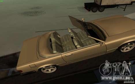 New Feltzer für GTA San Andreas Rückansicht