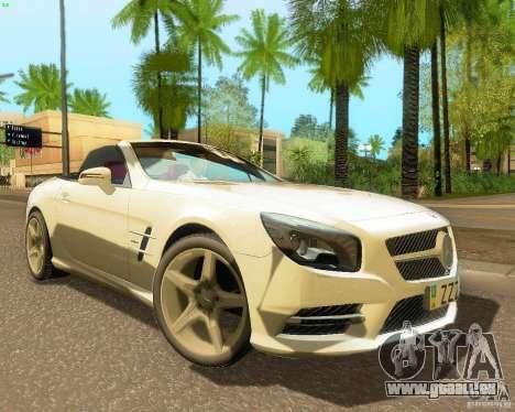 Mercedes-Benz SL350 2013 pour GTA San Andreas laissé vue