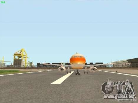 Sukhoi Superjet-100 pour GTA San Andreas laissé vue