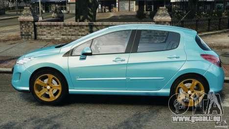Peugeot 308 GTi 2011 v1.1 pour GTA 4 est une gauche