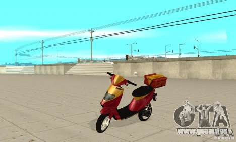 GTAIV Pizzaboy für GTA San Andreas