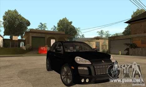 Porsche Cayenne 2010 pour GTA San Andreas vue arrière