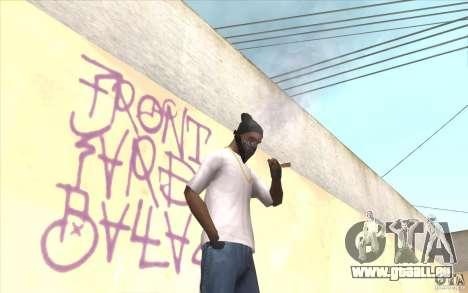 Fingerlose v2 für GTA San Andreas dritten Screenshot