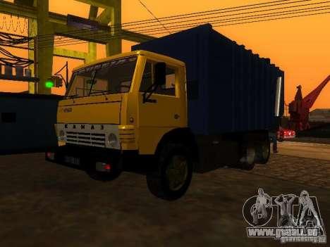 Camion à ordures 53212 KAMAZ pour GTA San Andreas vue de droite