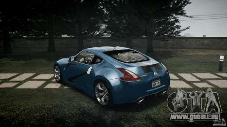 Nissan 370Z Coupe 2010 für GTA 4 hinten links Ansicht
