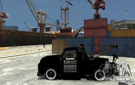 Black Towtruck für GTA 4 linke Ansicht