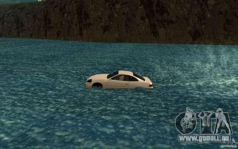 Alpha boat pour GTA San Andreas laissé vue