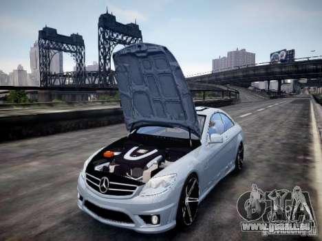 Mercedes-Benz CL65 AMG pour GTA 4 Vue arrière
