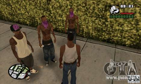 New Ballas für GTA San Andreas dritten Screenshot