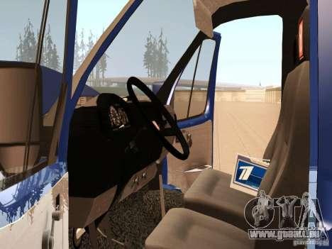 3302 gazelle für GTA San Andreas Seitenansicht