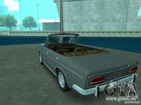 VAZ 2103 Cabrio für GTA San Andreas zurück linke Ansicht