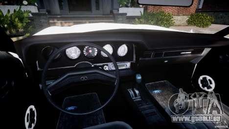 Ford Gran Torino 1975 v1.1 pour GTA 4 Vue arrière
