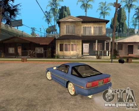 Toyota Supra MK3 pour GTA San Andreas vue intérieure