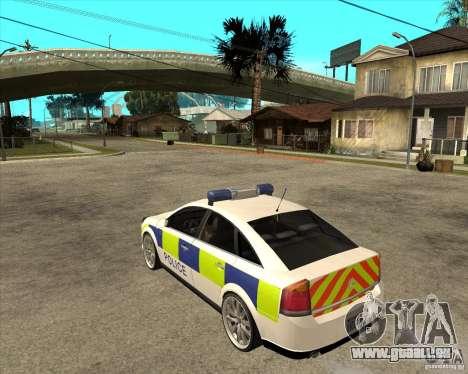 2005 Opel Vectra Police für GTA San Andreas linke Ansicht