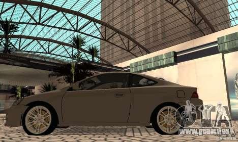 Acura RSX New für GTA San Andreas rechten Ansicht