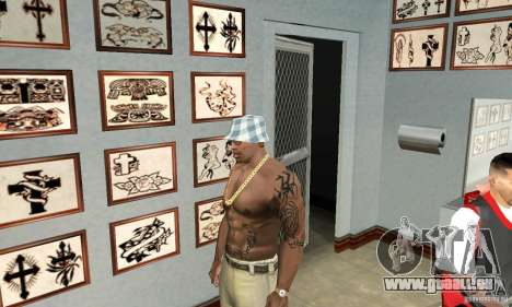 50cent_tatu für GTA San Andreas dritten Screenshot