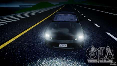 Saleen S281 Extreme Unmarked Police Car - v1.2 pour GTA 4 vue de dessus