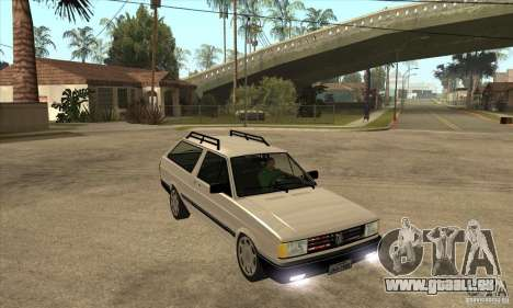 VW Parati GLS 1989 für GTA San Andreas Rückansicht