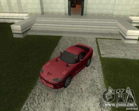 Dodge Viper GTS Coupe pour GTA San Andreas
