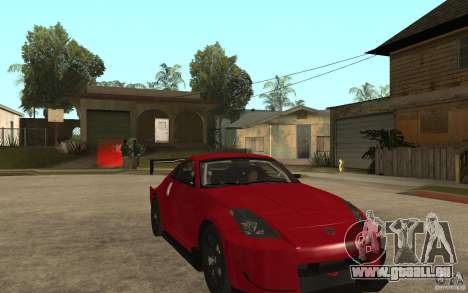 Nissan 350Z Supreme für GTA San Andreas Rückansicht