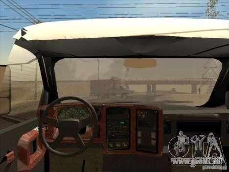 GMC 5500 2001 pour GTA San Andreas vue arrière