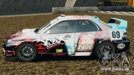 Subaru Impreza WRX STI N12 pour GTA 4 est une gauche