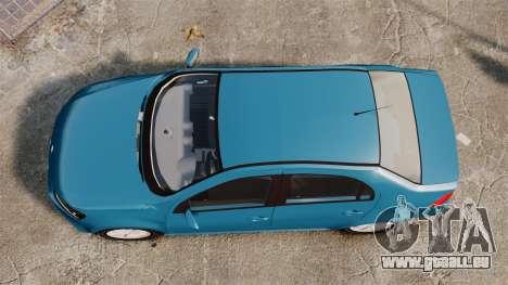 Volkswagen Voyage G6 2013 pour GTA 4 est un droit