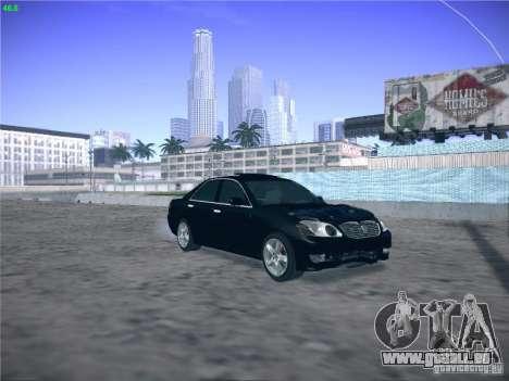 Toyota Mark II Grande für GTA San Andreas Innenansicht