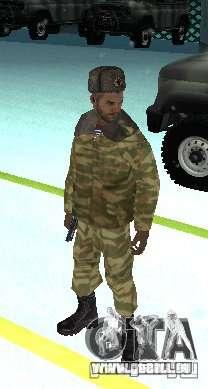 Dembele Covetskoj Armee für GTA San Andreas zweiten Screenshot