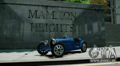 Bugatti Type 35C pour GTA 4