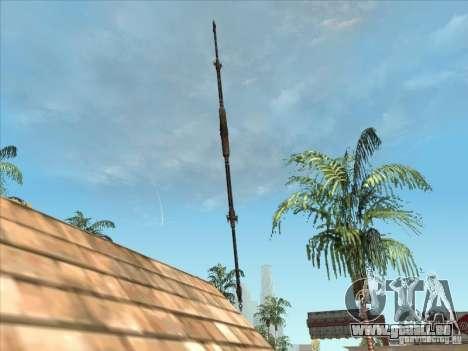La lance de Predator pour GTA San Andreas