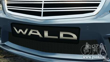 Mercedes-Benz S W221 Wald Black Bison Edition pour GTA 4