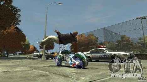 HellFire Chopper pour GTA 4 est un droit
