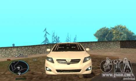 Toyota Corolla für GTA San Andreas linke Ansicht