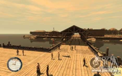 Planche de surf pour GTA 4 est une vue de l'intérieur