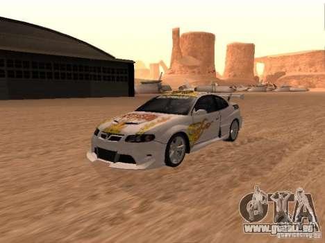 Vauxhall Monaro pour GTA San Andreas roue