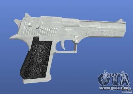 Silver Deagle pour GTA 4 secondes d'écran